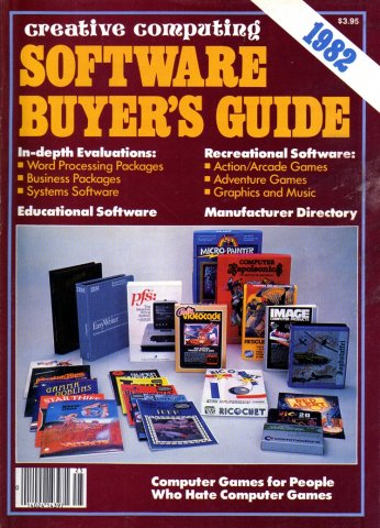 Creative Computing Software Buyer's Guide 1982