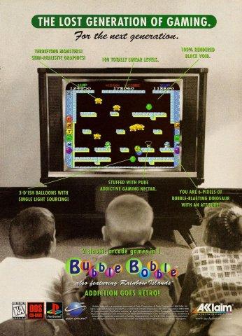 Bubble Bobble (PC - PSX - SAT)