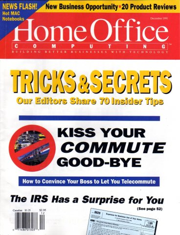 Home Office Computing Vol 09 No 12 December 1991