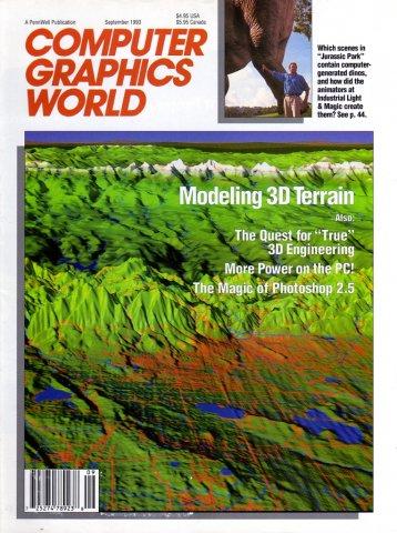 Computer Graphics World Vol. 16 No. 09 (September 1993)