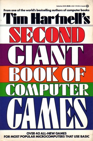 Tim Hartnell's Second Giant Book Of Computer Games