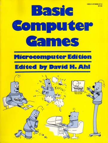 Basic Computer Games - Microcomputer Edition