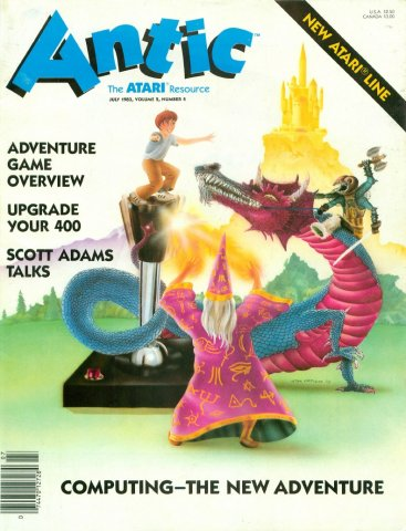 Antic Issue 010 July 1983