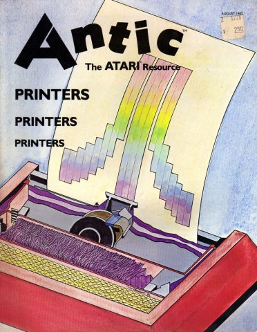 Antic Issue 003 August 1982