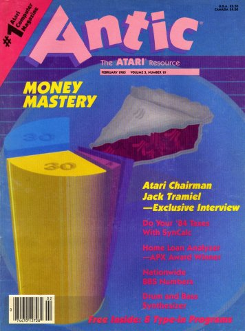 Antic Issue 028 February 1985