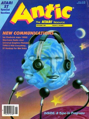 Antic Issue 037 November 1985