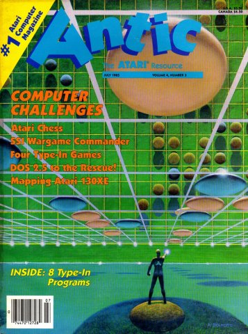 Antic Issue 033 July 1985