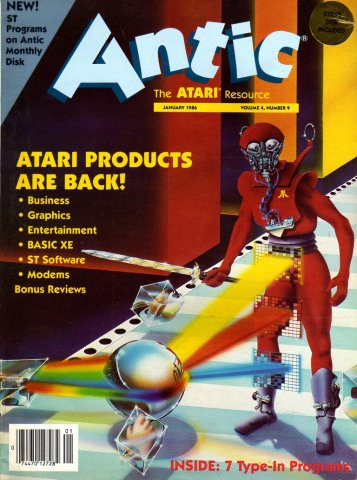 Antic Issue 039 January 1986