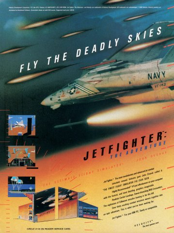 Jetfighter - The Adventure (ver.2)