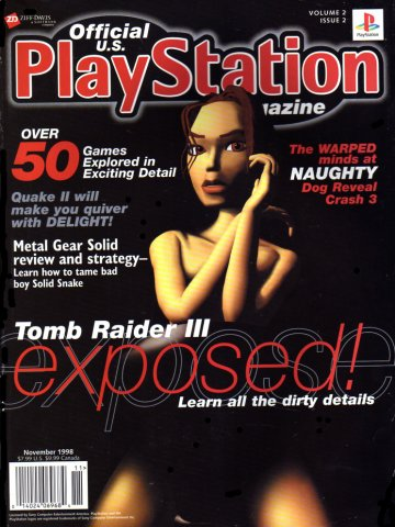 Official U.S. PlayStation Magazine Issue 014 (November 1998)