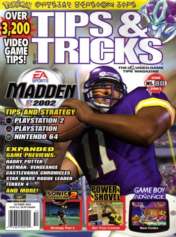 Tips & Tricks Issue 080 October 2001