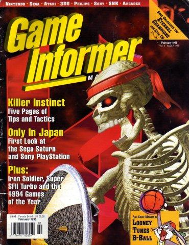 Game Informer Issue 022 February 1995