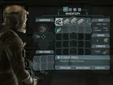Dead Space Inventory