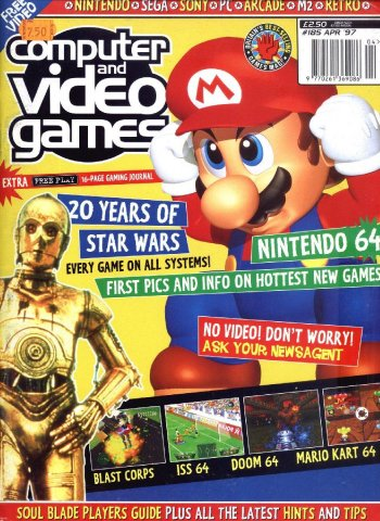 Computer & Video Games Issue 185