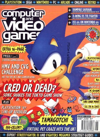 Computer & Video Games Issue 187