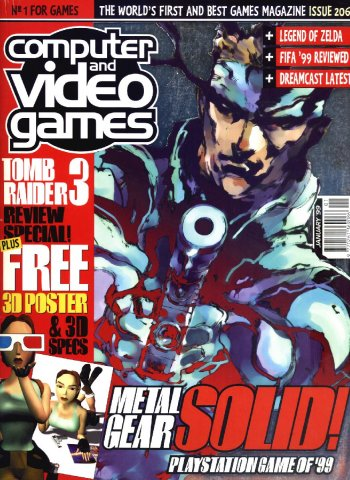 Computer & Video Games Issue 206