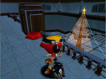 """Sonic Adventure Christmas photos with E-102 """"Y"""" (4)"""