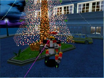 """Sonic Adventure Christmas photos with E-102 """"Y"""" (3)"""