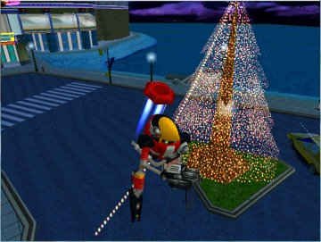 """Sonic Adventure Christmas photos with E-102 """"Y"""" (2)"""