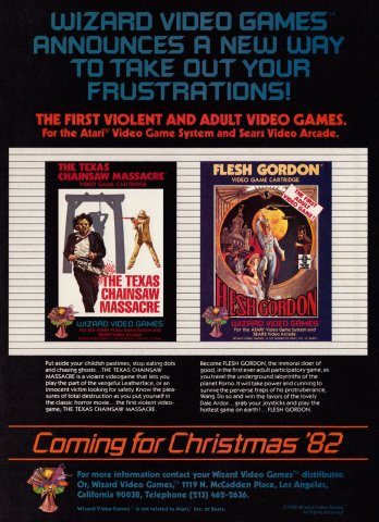 The Texas Chainsaw Maasacre Electronic Games 10 Dec 82 Pg 127