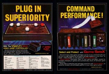 Starplex Deluxe Controller Electronic Games 11 Jan 83 Pg 84
