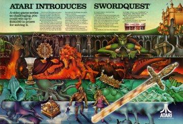Swordquest Electronic Games 11 Jan 83 Pg 58