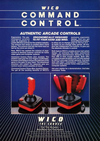 Wico Command Controll Electronic Games 17 July 1983 Pg 37
