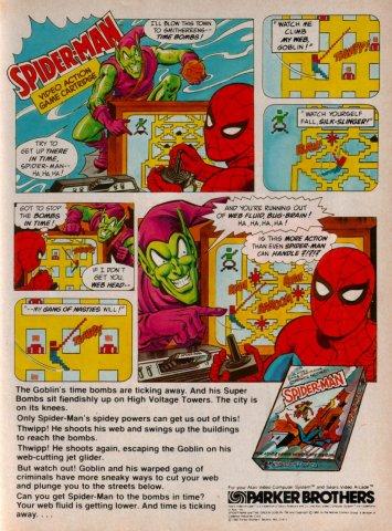 SpiderMan Electronic Games 11 Jan 83 Pg 43