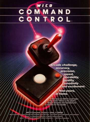 Wico Command Control Electronic Games 11 Jan 83 Pg 47