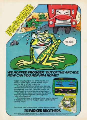 Frogger Electronic Games 10 Dec 82 Pg 11