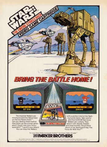 Star Wars: The Empire Strikes Back Electronic Games 10 Dec 82 Pg 13