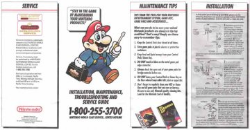 NES Maintenance, Service & Troubleshoot
