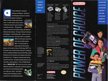 Power of Choice Nintendo Brochure