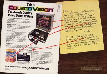 Colecovision System. Electronic Games Issue 10 Dec 1982