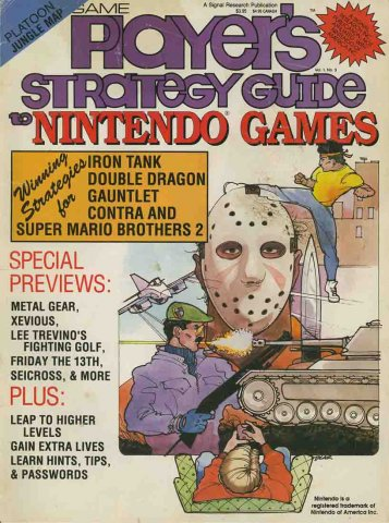 Game Player's Strategy Guide to Nintendo Games Vol.1 No.3 1988
