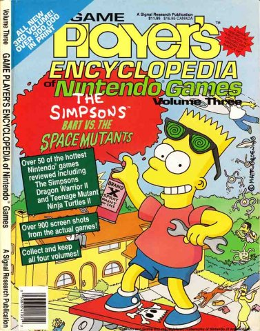 Game Players Encyclopedia of Nintendo Games Volume 03