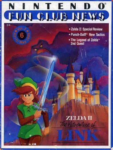 Nintendo Fun Club News Issue 006 April May 1988