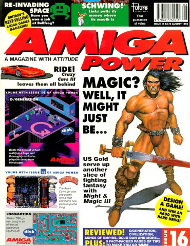 Amiga Power Issue 16 (August 1992)
