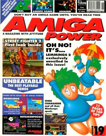 Amiga Power Issue 19 (November 1992)