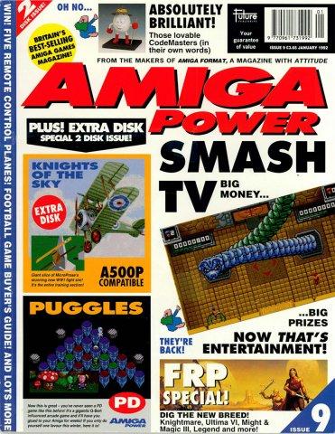 Amiga Power Issue 09 (January 1992)
