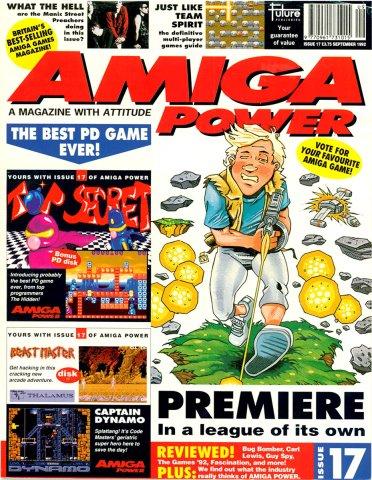 Amiga Power Issue 17 (September 1992)