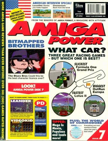 Amiga Power Issue 07 (November 1991)