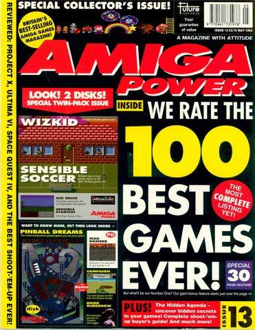 Amiga Power Issue 13 (May 1992)