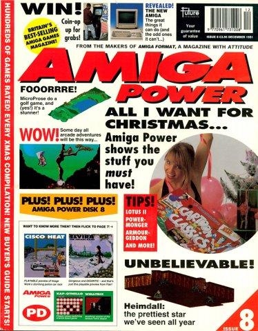 Amiga Power Issue 08 (December 1991)