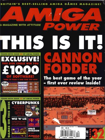Amiga Power Issue 32 (December 1993)