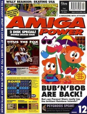 Amiga Power Issue 12 (April 1992)