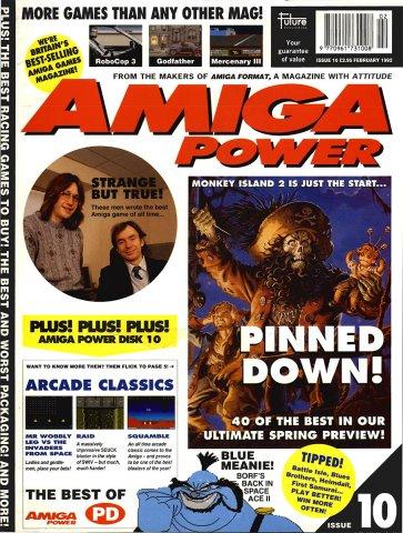 Amiga Power Issue 10 (February 1992)