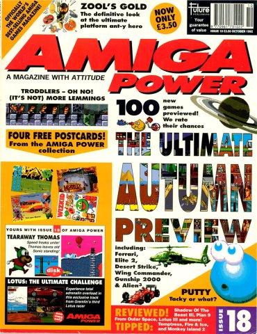 Amiga Power Issue 18 (October 1992)