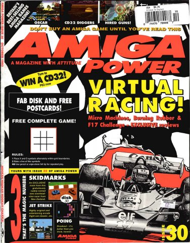 Amiga Power Issue 30 (October 1993)