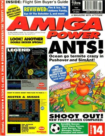 Amiga Power Issue 14 (June 1992)